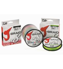 DAIWA BOB J BRAID X8 8 FILI 300M 0,20MM ART.020300
