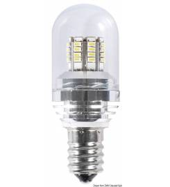 LAMPADINA A SILURO A 8 LED BULBO 10X39 ART.L4410039
