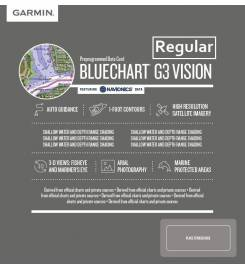 CARTOGRAFIA GARMIN G3 VISION REGULAR AREA