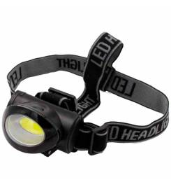 HEAD LED TORCH WITH 3 LIGHTING LEVELS
