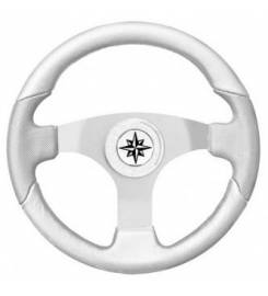 T15 SPORTY WHITE STEERING WHEEL