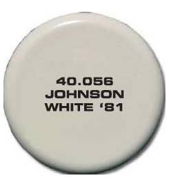 JOHNSON SPRAY TK PAINT FOR OUTBOARD WHITE 81