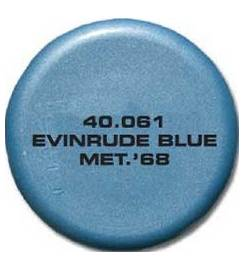 EVINRUDE SPRAY TK PAINT FOR OUTBOARD BLUE MET 68
