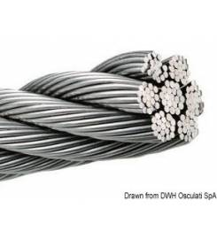 2MM CABLE IN STAINLESS STEEL AISI 316 WITH 133 WIRES