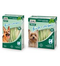 BAYER SNACK JOKI PLUS DOG DENT FRESH STRIPES