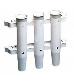 WALL ROD HOLDER IN NYLON 3 PLACES