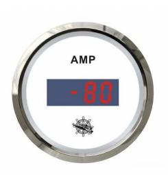 DIGITAL AMMETER WITH OSCULATED WHITE / GLOSSY SHUNT