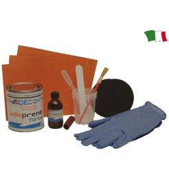 REPAIR KIT FOR INFLATABLES IN GRAY NEOPRENE