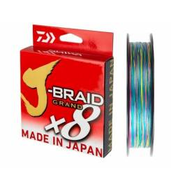 BRAIDED J-BRAID GRAND X8 135MT DAIWA MULTICOLOR