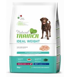 TRAINER IDEAL WEIGHT ADULT MEDIUM & MAXI WHITE MEAT