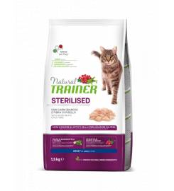 NATURAL TRAINER ADULT STERILIZED WHITE MEAT