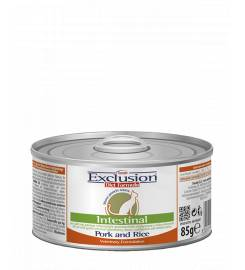 EXCLUSION DIET CAT INTESTINAL PORK AND RICE 85GR