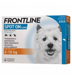 FRONTLINE CANI SPOT ON  4 PIPETTE