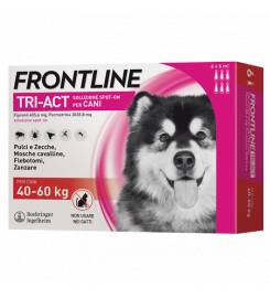 FRONTLINE TRI-ACT FOR DOGS 20-40KG 6 PIPETTES