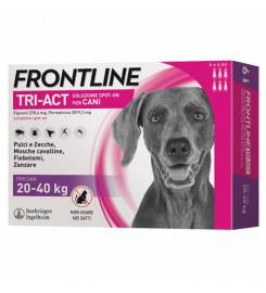 FRONTLINE TRI-ACT FOR DOGS 20-40KG 3 PIPETTES