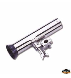 ADJUSTABLE ROD HOLDER WITH STAINLESS STEEL PULPIT ATTACHMENT