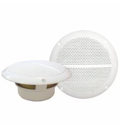 PAIR OF SPEAKERS TWO-WAY 100W WHITE
