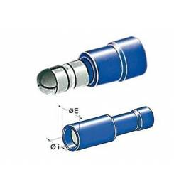 CYLINDRICAL TERMINALS 1-2.5MM MALE FEMALE