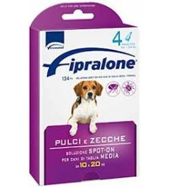 FIPRALONE SPOT ON DOG 4 PIPETTES 10-20KG