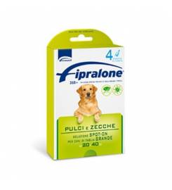FIPRALONE SPOT ON DOG 4 PIPETTES 20-40KG