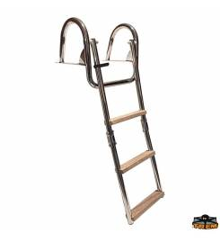 TREM FOLDING STAINLESS STEEL LADDER