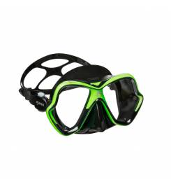 MARES X-VISION GREEN BLACK MASK