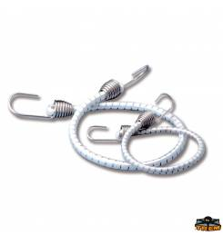 TREM ELASTIC LACES WITH STAINLESS STEEL HOOKS