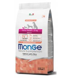 MONGE EXTRA SMALL ADULT SALMON AND RICE