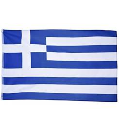 LALIZAS FLAG GREECE IN POLYESTER