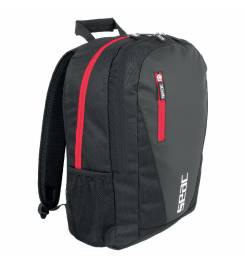 SEAC KUF RED AND BLACK ULTRALIGHT BACKPACK