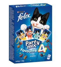 PURINA SNACK FELIX PARTY MIX FAVORITE 4