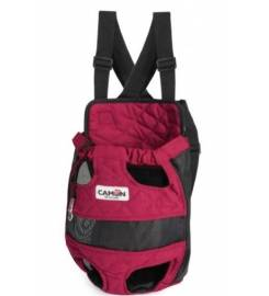 CAMON RED QUILTED CARRY BACKPACK