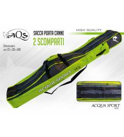 AQS ROD BAG WITH 2 COMPARTMENTS