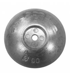 FLANGE ANODE FOR RUDDERS AND FLAPS