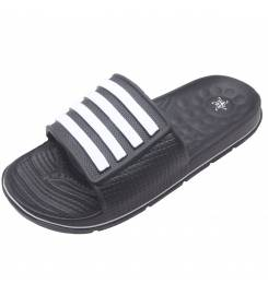 ABYSSTAR RELAX BLACK SLIPPERS WITHOUT VELCRO