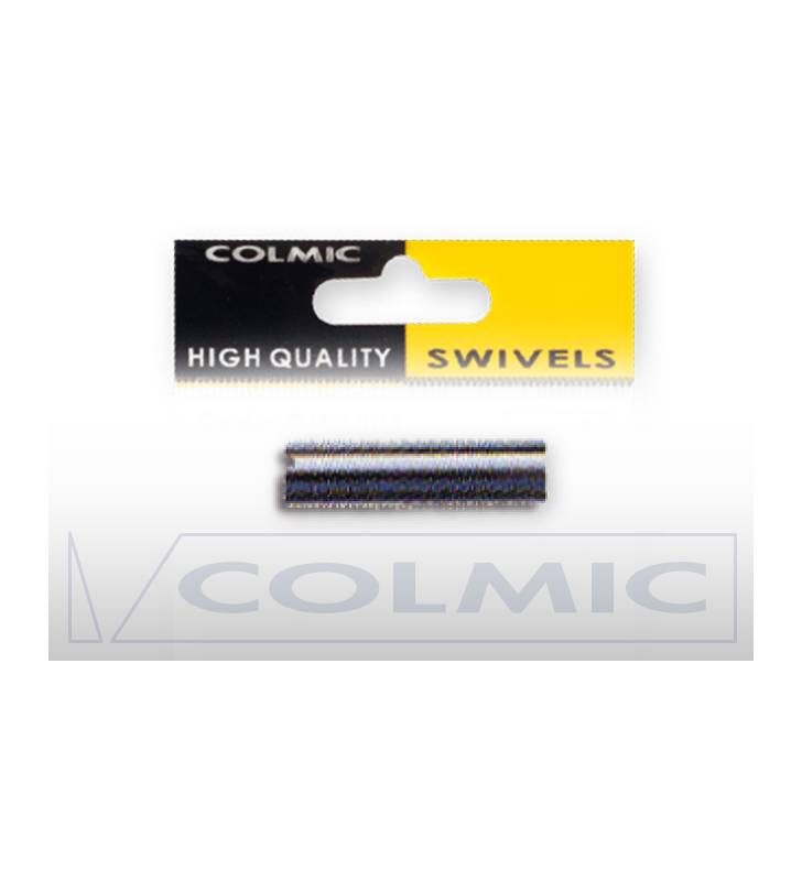 COLMIC GM 6007 BRASS TUBES BLACK TUBETTI 1,0MM ART.GM600710