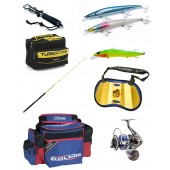 Sale of fishing rods, reels, pastures, bottom fishing