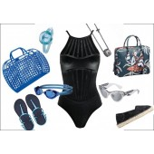 Pool accessories, goggles, swimwear for men, women and children
